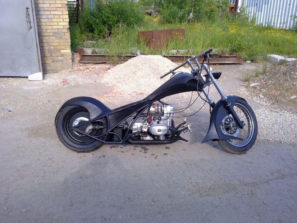 Как сделать мотоцикл чоппер